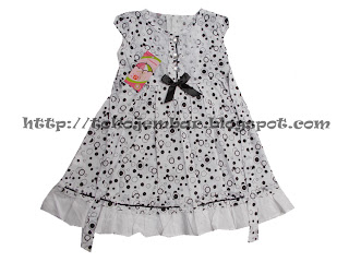 Dress Klasik Polka Pita