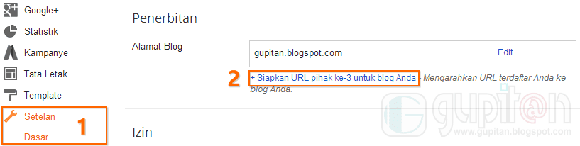 Cara Setting Custom Domain Blogger di Namecheap 1