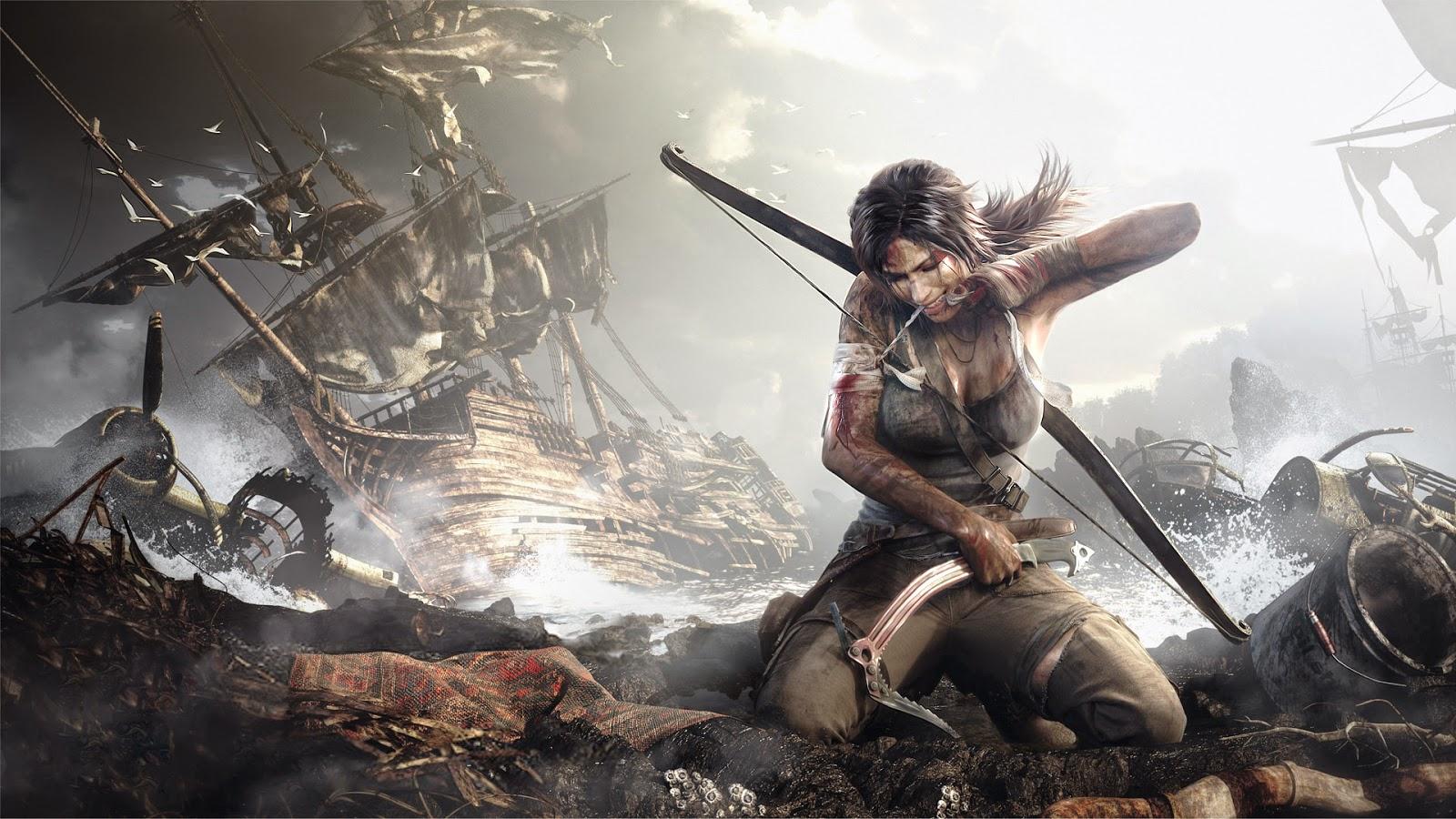 El videojuego de Tomb Raider también tuvo su reboot