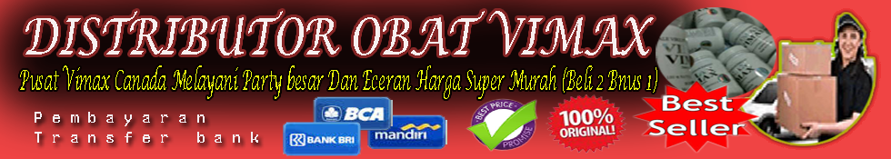 Distributor Obat Vimax
