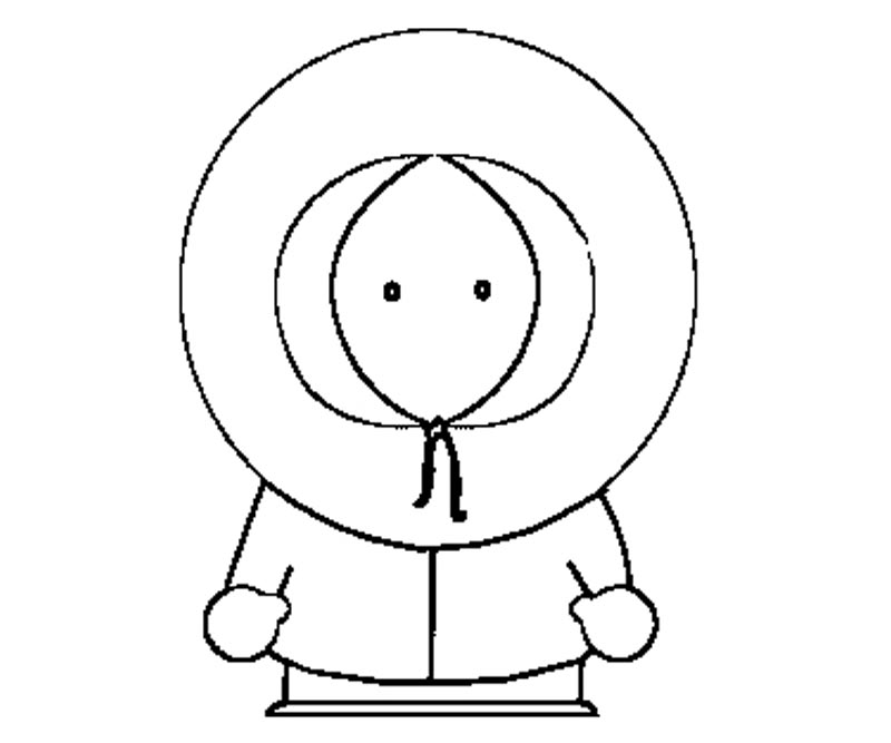 coloring pages of south park - photo#30