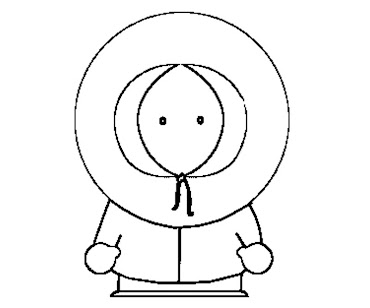 #7 Kenny McCormick Coloring Page