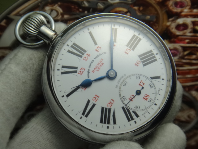 Anglo Swiss Watches Co Admiral