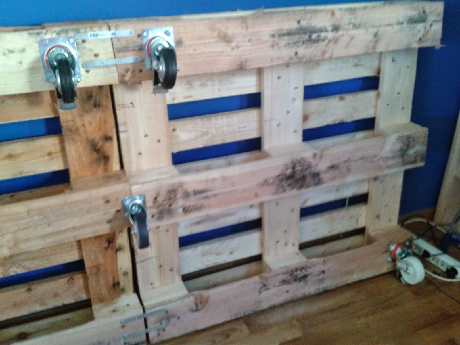 Taller de Restauración Lila: DIY: Cama de palets
