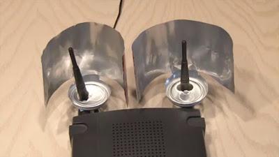 router wifi casero