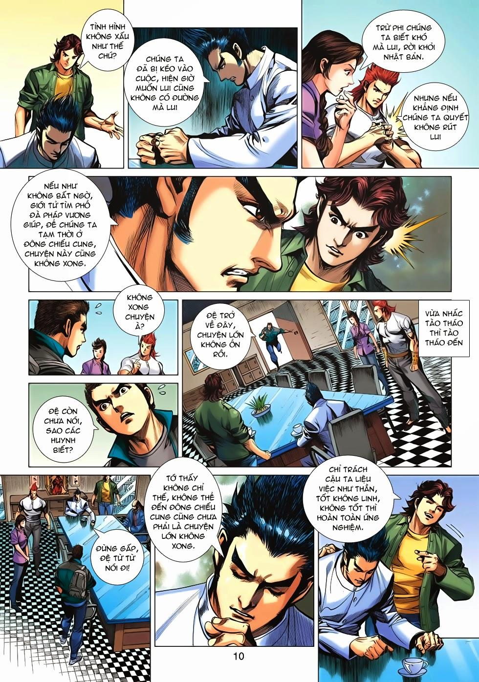 Tân Tác Long Hổ Môn chap 659 - Trang 10