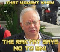 Kajian: Sokongan kepada Najib merosot lagi
