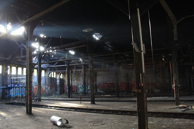 Dépôt de train abandonné Berlin