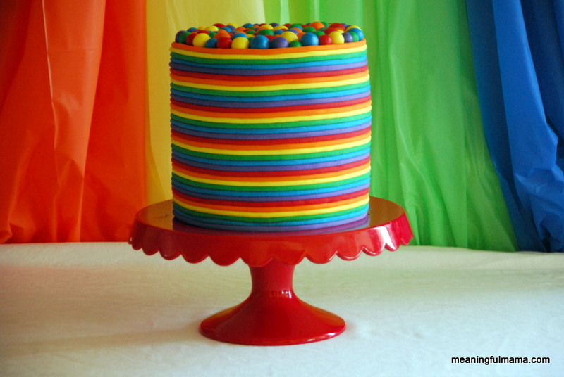 Birthday Cake Ideas Rainbow : Babies and Kids: Rainbow Birthday Cake