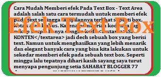 Text Box Image