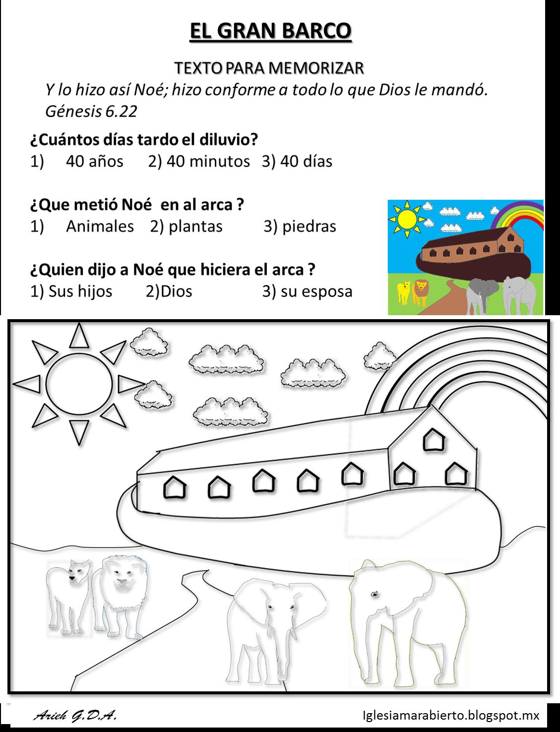 Escuela dominical para ninos de 3 a 5 anos escuela - Actividades para ninos pequenos ...