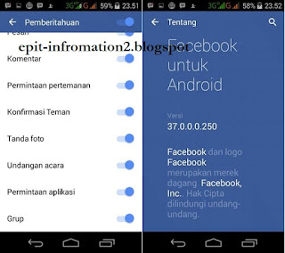 New Facebook Beta 37.0.0.0.250 For Android 4.0+ (ICS) Clone