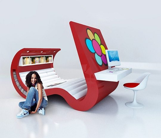 Cool finder cool modern and futuristic furniture for Cool modern chairs