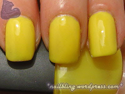 BYS Mystery Yellow Swatch