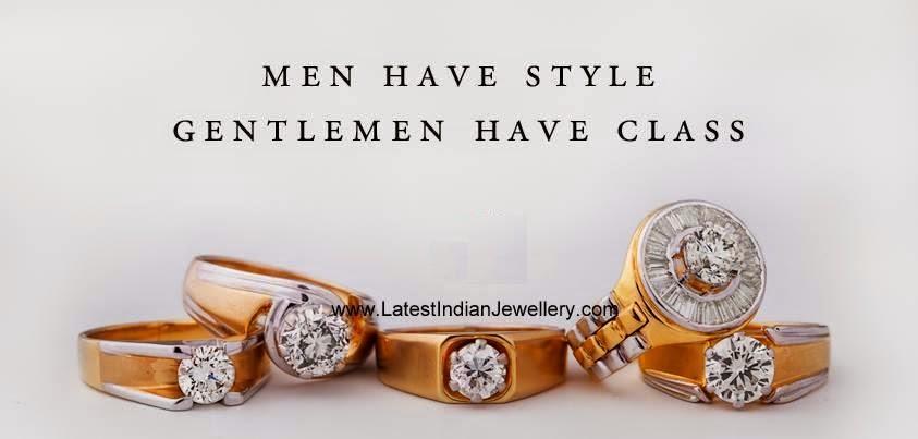 Latest Diamond Rings for Men