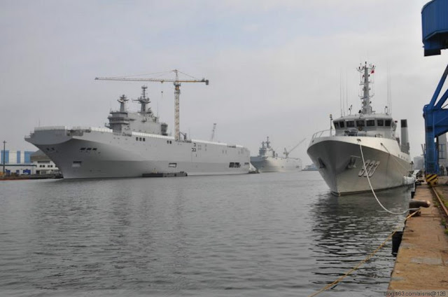 Sevastopol and Vladivostok LHD