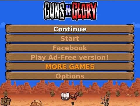 تحميل لعبة الكوبوي Guns Glory