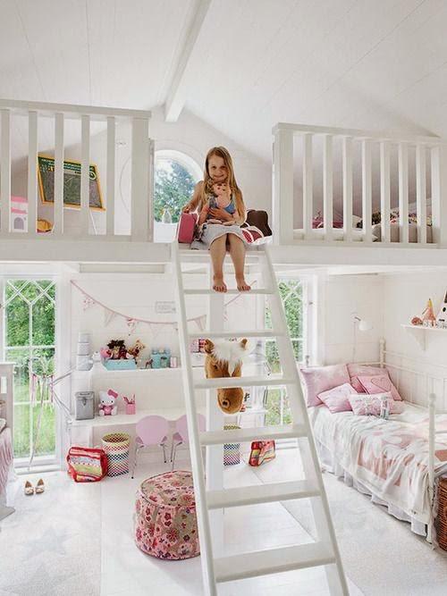si lo que tienes es una vivienda con zonas a doble altura una habitacin en la buhardilla para los nios es ideal siempre que tengan todas las