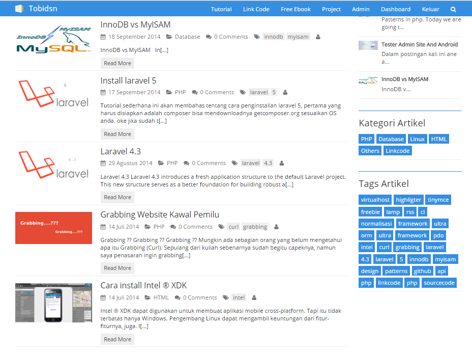 membuat halaman awal web dengan php codeigniter cara mudah