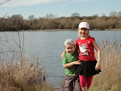 Top Ender and Big Boy at the Nature Reserve