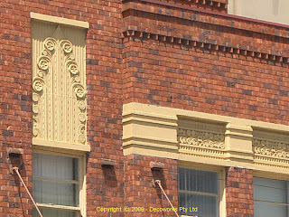 Petersham Inn facade detail