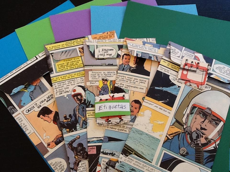 Tulix juegos de escritorio con sobres de papel reciclado - Juego de escritorio ...