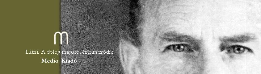 Hamvas Béla, életműsorozat, könyv, Medio Kiadó, Művészeti írások I.