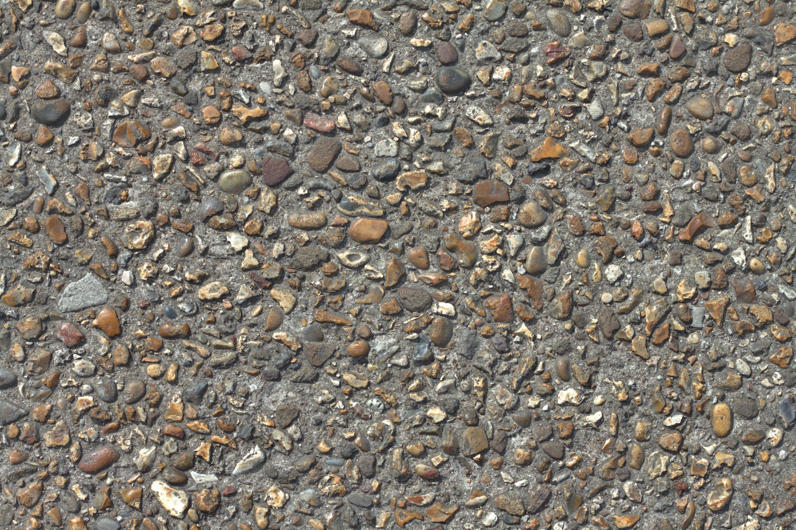 (Concrete cobble stone 3) pebble walkway texture 4778x3178