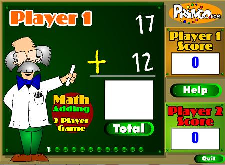 Thi toán, chơi game thi làm toán online trên mạng
