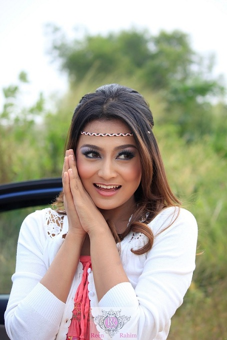 Gambar Reen Rahim, pelakon kontroversi Drama Sahara