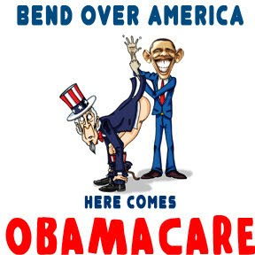obamacare bend over