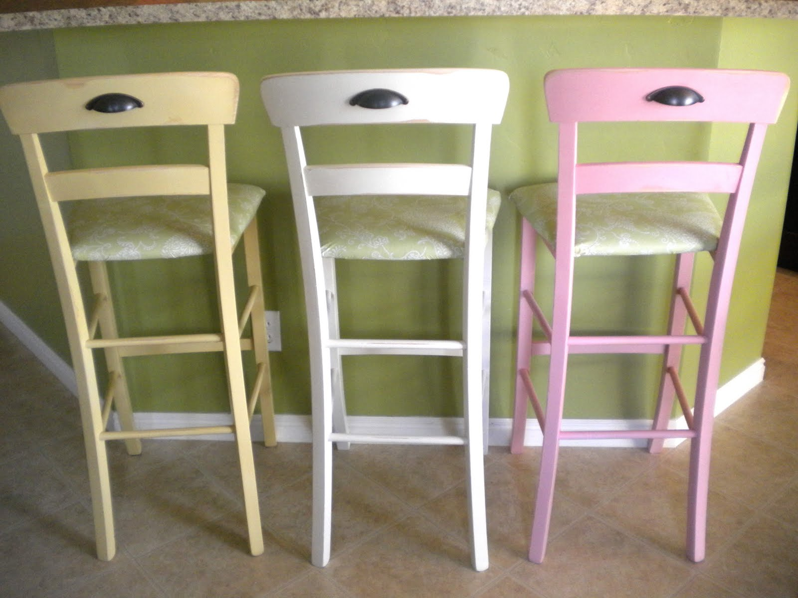 New Wooden Breakfast Bar Stools