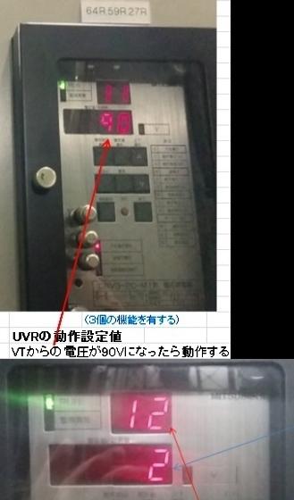 UVR(不足電圧継電器)をまず覚える!