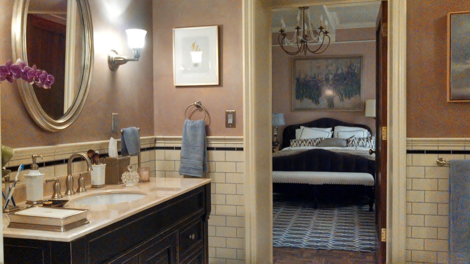 the sets revealed olivia gets a new bathroom. Black Bedroom Furniture Sets. Home Design Ideas