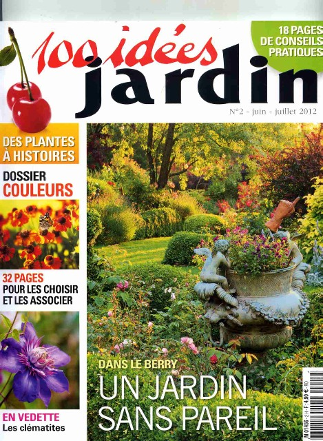 Reportage 100 ides Jardin juin-juillet2012