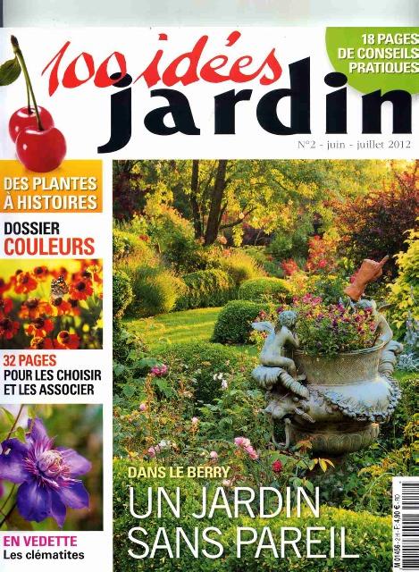 Reportage 100 idées Jardin juin-juillet2012