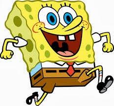 porifera contohnya spons (spongebob)