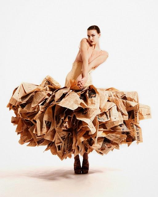 Moda partir de materiales reciclados