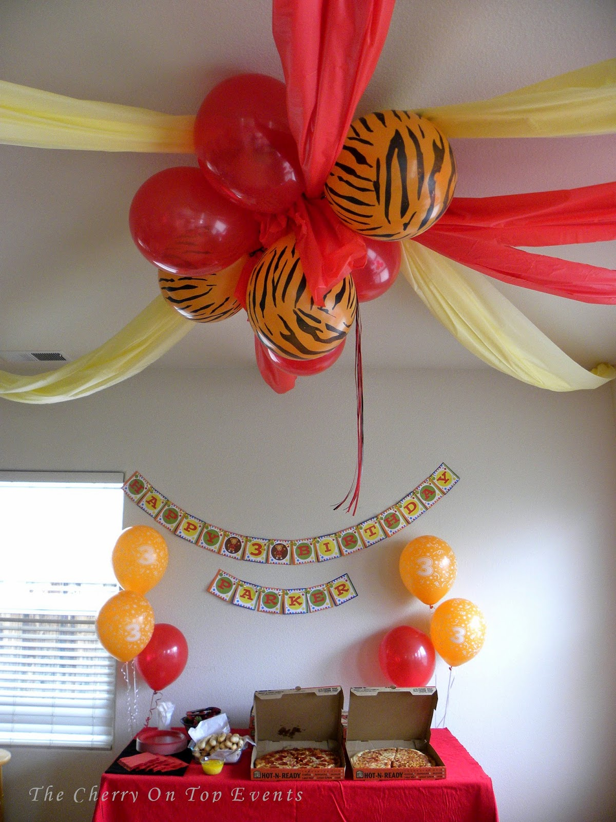 The Cherry On Top Events Party Blog A Daniel Tiger S 3rd