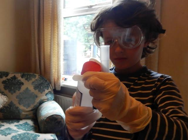 My little mad scientist