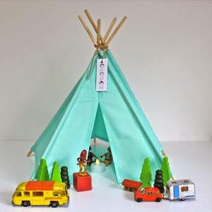 Buy Handmade | Christmas Gift Guide For Children - Turquoise Tipi