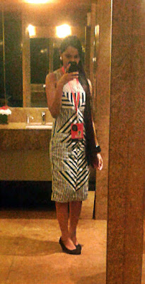 fashion selfies, lakme fashion week, 2013 fashion week, monochrome, designer dresses, indian dresses, fashion week selfies, geometric print dress