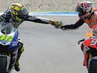 Duel Sengit Yang Seru...Selamat Untuk Rossi