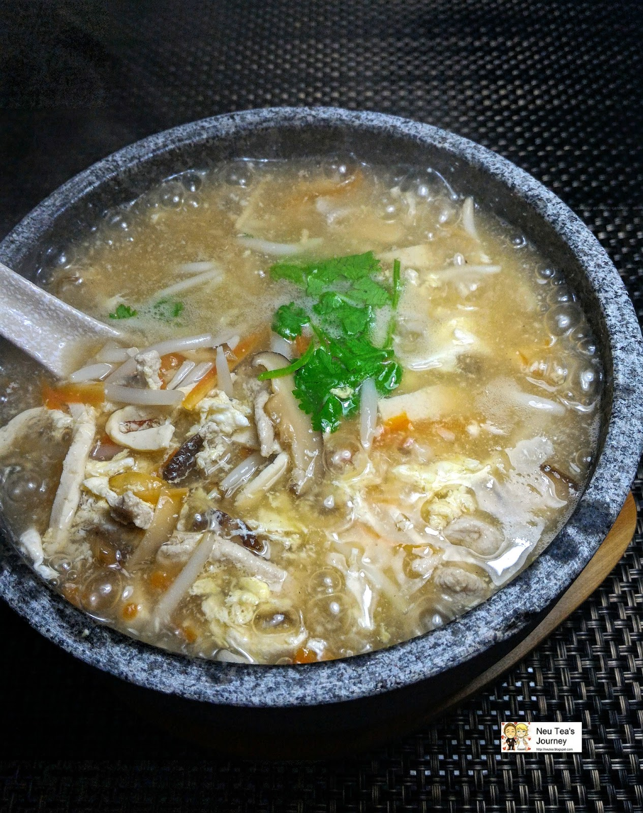 Hot & Sour Soup 酸辣汤 at Private Dining