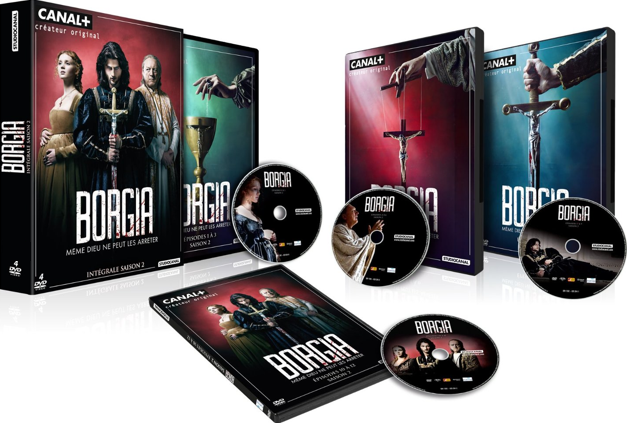 Borgia - Season 2 - New teasers and DVD/BD cover