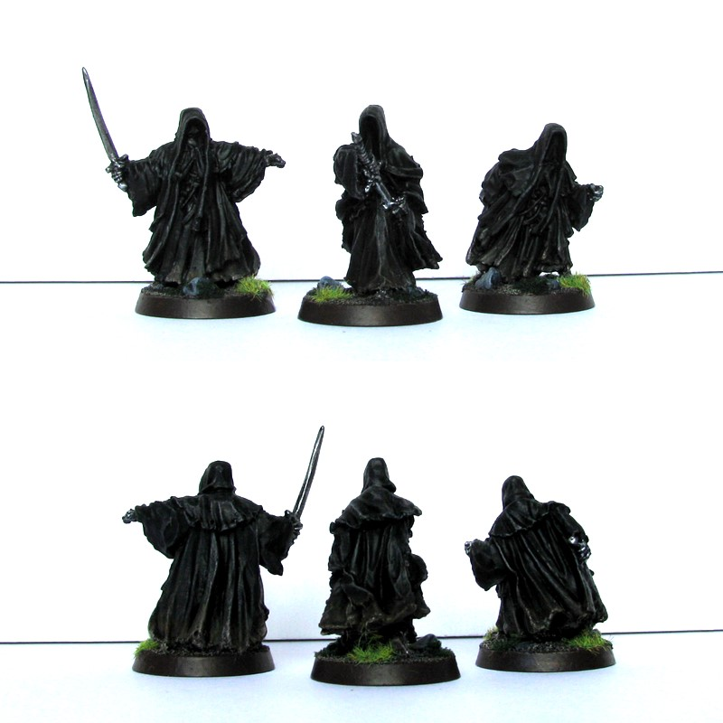 Figurki Nazguli z Mordoru