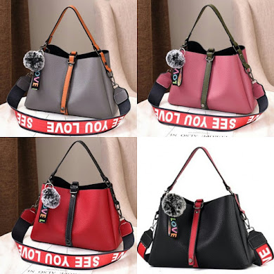 COMBO SERIES (2 IN 1 SET) - BLACK , DUSTY PINK , GREY , RED