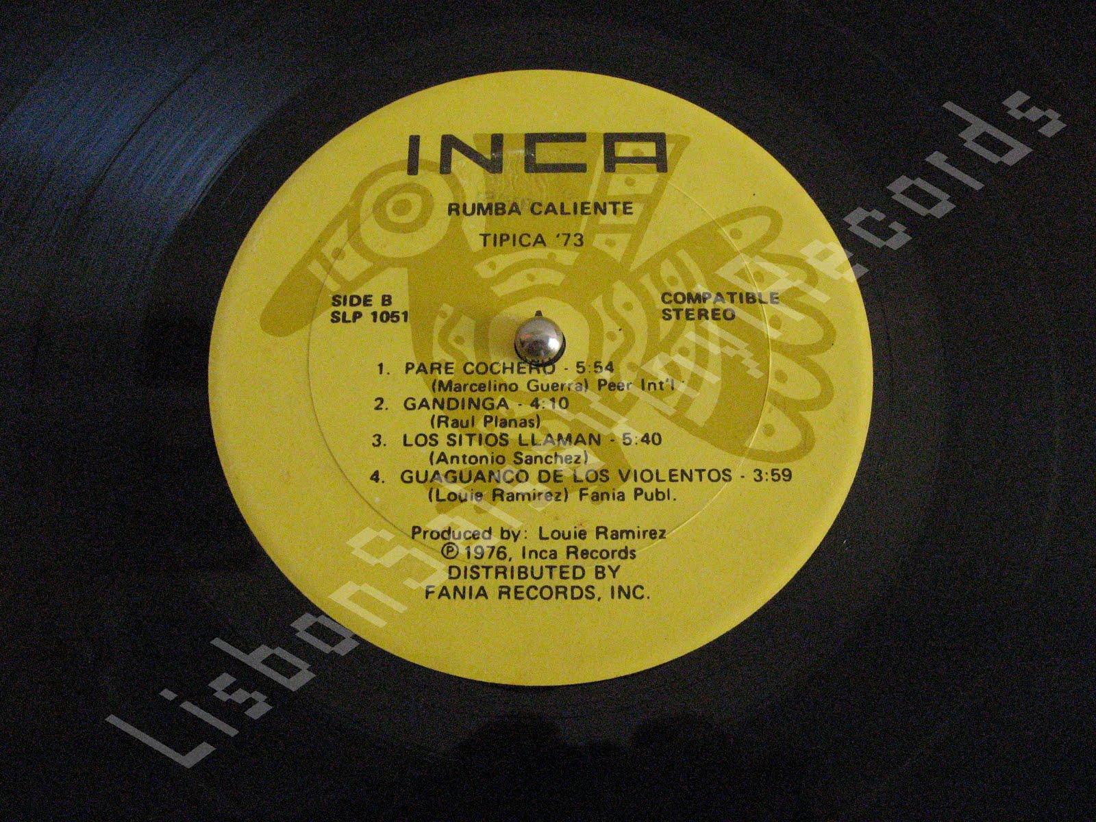 Lisbon Vinyl Salsa Records Tipica 73 Rumba Caliente