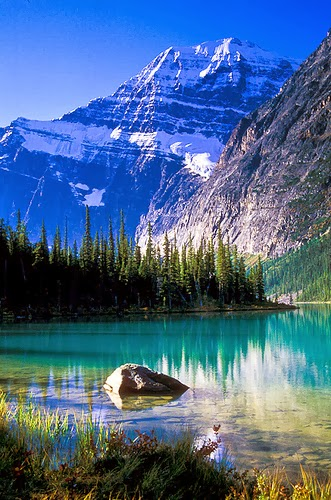 Mount Edith Cavell,Jasper National Park, Canada