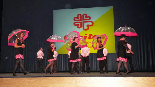Gala benéfica Siero Baila por Cáritas asociacion NORA